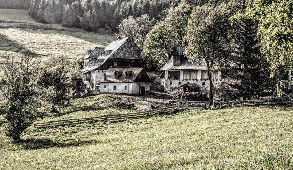 Bauernhof alt